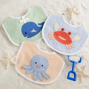 Beach Buddies 3 Piece Bib Gift Set for Boy imagerjs