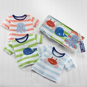 Deep Sea Tees Ocean Baby T-Shirt Gift Set imagerjs