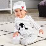 Penguin PJs Layette Gift Set