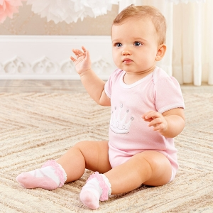 Little Princess Bodysuit and Sock Gift Set imagerjs