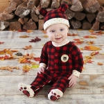 Red Plaid Fleece Pajama Gift Set