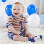 My First Birthday 3 Piece Dapper Dude Outfit