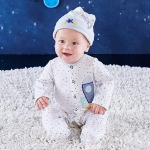 Cosmo Tot Spaceship 2 Piece Pajama Gift Set
