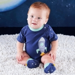 Cosmo Tot Spaceship 2 Piece Layette Set