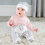 Trendy Baby Kitty 2 Piece Pajama Gift Set