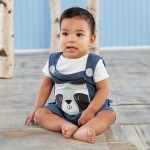 Forest Friends Raccoon Romper