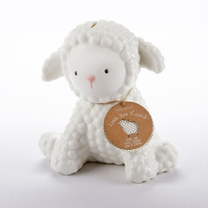 Love You Lamb Ceramic Bank imagerjs