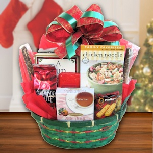 Soulful Christmas Book Basket imagerjs