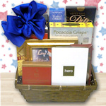 In Honor of a Hero Gift Basket