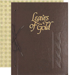Leaves of Gold Inspirational Book