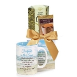 'Footprints' Book Gift Basket