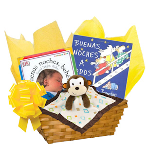 Buenas Noches Bebe Spanish Book Gift Basket imagerjs