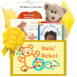 Hola Bebe Spanish Book Gift Box imagerjs