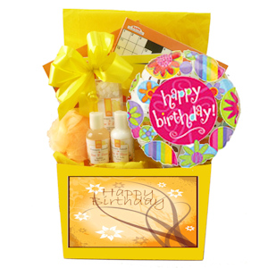 Birthday Spa and Puzzle Basket imagerjs
