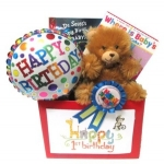 First Birthday Baby Book Gift Box