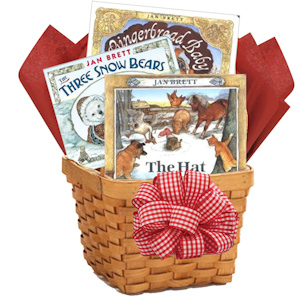 Jan Brett Celebrate Winter Baby Book Basket imagerjs