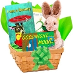 Bunny Books Basket for Baby