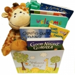 Wild About Baby Book Gift Basket