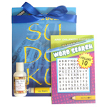Get Well Book and Bath Gift Pack for Him