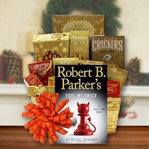 Holiday Book Baskets