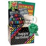 Fun Birthday Gift Box with Balloon