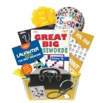 Boredom Buster Book Gift Basket