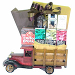 Keep On Truckin' Coffee Break Basket