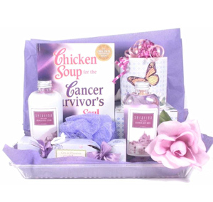 Cancer Survivor Bath and Book Basket imagerjs