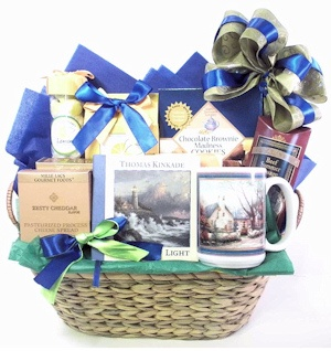 Words of Hope Sympathy Basket imagerjs