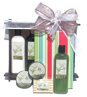 Bathtime Bliss Book Gift Basket imagerjs
