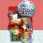 Bookworm's Birthday Gift Basket