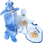 Growth Chart Baby Gift Set - Boy or Girl