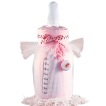 Giant Baby Bottle Blanket Gift