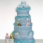 Blue Bear Baby Cake Supreme