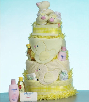 Yellow Duck Baby Cake Supreme imagerjs