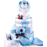 Puppy Pal Baby Diaper Cake