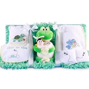 'Cute as can Bee' Frog and Friends Gift Set imagerjs