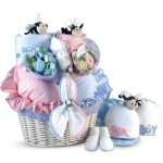 Bee-utiful Twins Gift Basket