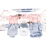 Baby Shower Twin Clothesline Layette