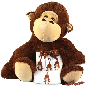 Five Little Monkeys Giant Plush Baby Gift imagerjs
