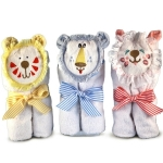 Purrfect Baby Hooded Towels
