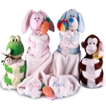 Personalized Baby Blanket Hug-Zzzies Gift Set