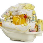 Deluxe Bathtub Baby Bath Gift Basket