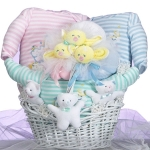 Little Stars Triplets Basket