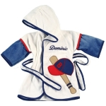 Personalized Baseball Bath Cover-Up