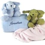 Personalized Nighty-Nite Puppy Gift
