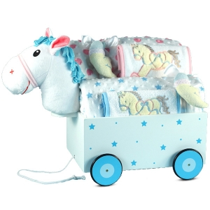 Pony Welcome Wagon Baby Gift for Twins imagerjs