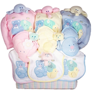 Baby Triplets Deluxe Gift Tote imagerjs