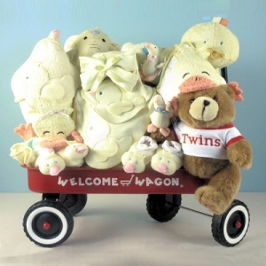 Deluxe Twins Neutral Welcome Wagon imagerjs