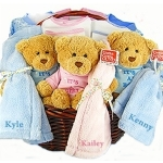 Beary Sweet Triplet Gift Basket